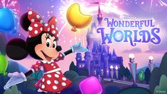 Coming soon an all new puzzle game for Disney fans... Disney Wonderful Worlds! Disney Games, Disney Theme, World Mobile, Free Mobile Games, Minnie Mouse Decorations, Game Tag, Match 3 Games, Candy Crush Saga, Pixar Characters