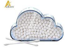 Arts123 Cloud Cotton Swab Holder  Inclusion 200 Cotton Swabs