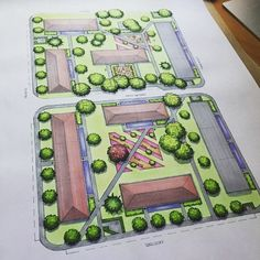 #mulpix Hotovo!  It is done!  #návrh #plán #sídliště #mělník #škola #ateliéry…