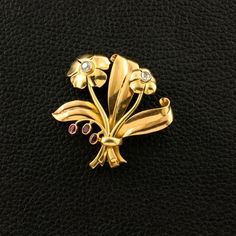 Flower Estate Pin