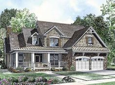 Eplans Country House Plan - Elegant Traditional - 2918 Square Feet and 4 Bedrooms from Eplans - House Plan Code HWEPL57810