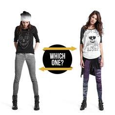 BLACK SKULL or WHITE SKULL?