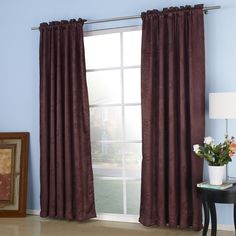 Embossed Pursuit Blackout Thermal Curtain  #curtains #homedecor #decor #homeinterior #interior #design #custommade