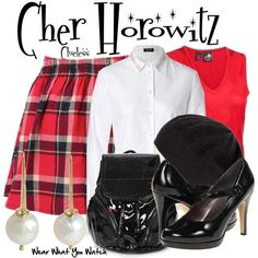 """BY REQUEST - Inspired by Alicia Silverstone as Cher Horowitz in Clueless"""" - Shopping info! Clueless Fashion, 90s Fashion, Clueless Style, Casual Cosplay, Cosplay Dress, Ariana Grande Outfits, Disney Inspired Outfits, Fandom Fashion, Material Girls"""