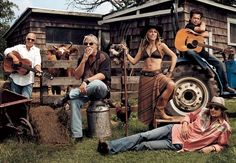 The Country & Western Music Portfolio | Vanity Fair | Jimmy Buffett, Bob Seger, Sheryl Crow, John Mellencamp, and Kid Rock | by Mark Seliger