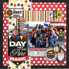 A Day Filled With Pure Magic - Scrapbook.com