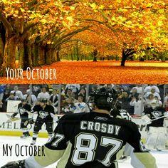 Pens. Fall. Hockey.  #pens #hockey