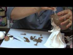 Curso de Modelado en pasta flexible de novios para Pastel  Parte 2 HD - YouTube