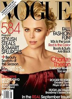 Charlize Theron on the VOGUE cover September 2009