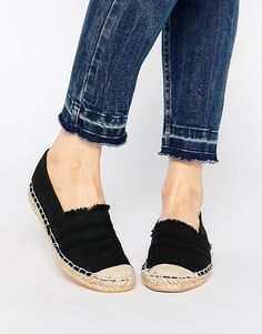 22bbbfeadb5 Image 1 of New Look Frayed Edge Espadrille Sneaker Boots