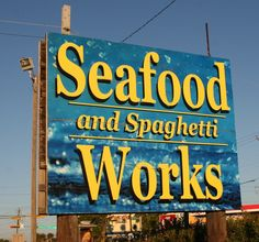 Seafood and Spaghetti Works in Port Aransas TX