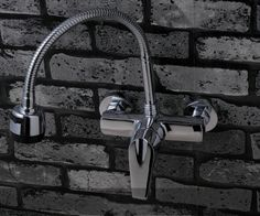 full copper wall type cold and hot water universal tube basin kitchen sink multifunctional hot and cold water tap