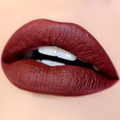 """Colourpop lippie stick in """"chateau"""". This color is a bit darker in person but still a beautiful fall color. I wore it all day and there was some cracking but overall I'm satisfied with this! I prefer my NYX matte lipsticks though - same price."""