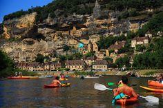 La-Roque-Gageac France Area, La Roque Gageac, La Dordogne, Le Village, Beaux Villages, Deep Forest, Travel Guide, Dolores Park, River