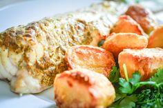 Roasted Monkfish with Maille Lime and Dill Mustard.jpg by BotanicalBaker, via Flickr