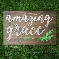 MADE TO ORDER Amazing Grace String Art by TheHonakerHomeMaker