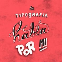 Tipography project by Gustavo Mancini, via Behance