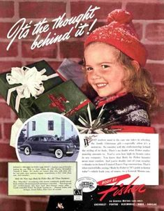 1940 Fisher automobile body care ad. The Saturday Evening Post.