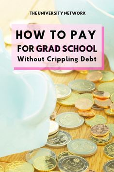 How to Pay For Grad School While students with a master's degree earn more than those with a bac Scholarships For Graduate Students, Nursing School Scholarships, Nursing Schools, College Students, Law Students, College Majors, College Club, College Hacks, Student Loan Repayment