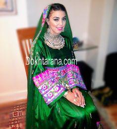 #afghan #dress #pink #green #jewelry #singer