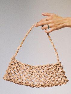 Ethical Fashion, Slow Fashion, Net Bag, Macrame Bag, Brand Me, Sustainable Clothing, Bago, Contemporary Design, Straw Bag