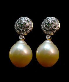 Polished Pearl Diamond Stud Earrings Pearl And Diamond Earrings, Pearl Diamond, Diamond Studs, Stud Earrings, Polish, Pearls, Jewelry, Diamond Earrings, Vitreous Enamel
