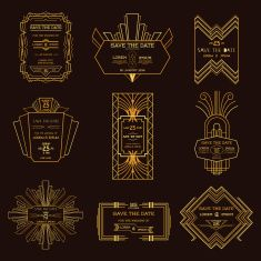 stock-illustration-57772438-set-of-wedding-invitation-cards-art-deco-vintage.jpg (235×235)