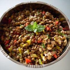 Linsensalat *Marokko* Rezept | Küchengötter