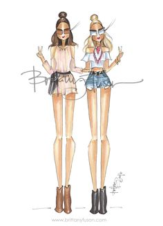 So, who's heading to Coachella for it's weekend of shows? Be sure to grab something with fringe, a bandana, and a pair of cutoffs. Fashion Art, Fashion Beauty, Girl Fashion, Fashion Outfits, Ballet Fashion, Drawing Fashion, Asos Boots, Dress Sketches, Drawing Sketches