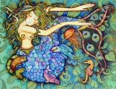 Holly Sierra's mermaid