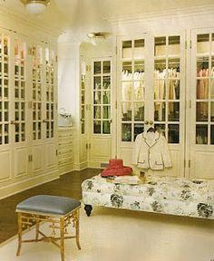 glass doors fully encased