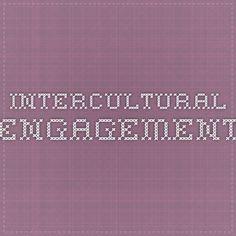 Intercultural Engagement - Cultural Competence Assessment Resources