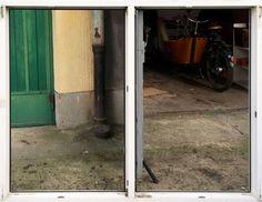 Używane okno ścienne PCV Dako 179x148 z kluczykiem
