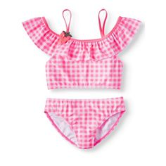 Matching Family Outfits Canis 2019 Lovely Women Mother Daughter Kid Girl Print Ruffles Bikini Swimwear Swimsuit Beach Bathing Swim Suit Easy To Repair
