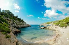 Cala Olivera on Ibiza