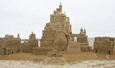 hampton beach sand sculpture contest 2013 | 2013 Summer Rentals Hampton Beach NH