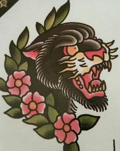 Does anyone have suggestions or pictures of tattoo ideas with this similar theme (cutesy juxtaposed with dangerous)? Bonus points if American Style.