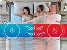 Too Hot? Too Cool? Find out more about the #SleepNumber #DualTemp Layer.