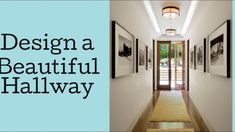 Desiging a hallway Design Basics, Youtube, Beautiful, Home Decor, Decoration Home, Room Decor, Home Interior Design, Youtubers, Youtube Movies