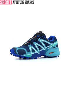 sneakers for cheap c4c34 1c89b Chaussure de trail femme Gore-tex Salomon Speedcross 4 GTX Femme – achat et  prix pas cher - Go Sport
