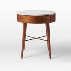 West Elm Penelope Bedside Table $500