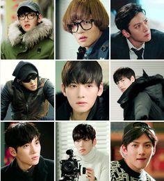The many faces of Seo Jung-Hoo, aka Healer. #korean #drama