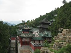 The Summer Palace In Beijing, China. Such a beautiful place and a must see if you are in Beijing.