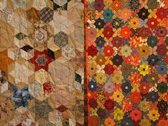 AMAZING vintage quilts in this post
