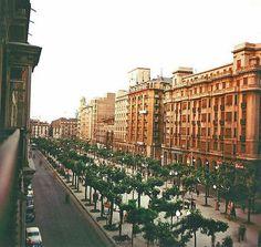 Paseo Independencia años 50 | por GAZA - Gran Archivo Zaragoza Antigua