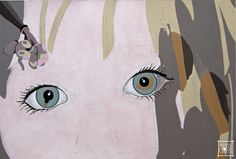 fine art - Abby Skinner - step too graphical but still great eyes Moose Art, Fine Art, Illustration, Artist, Artwork, Anime, Portraits, Eyes, Medium