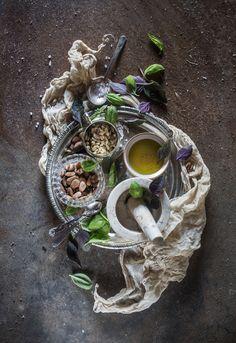 How to Make Perfect Vegan Pesto | Hortus Natural Cooking Grundrezepte simpel erklärt und wunderschöne Fotos!