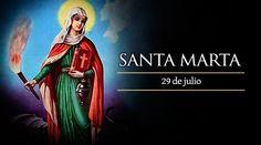 El 29 de julio la Iglesia universal recuerda la figura de Santa Marta de Betania, hermana de María y Lázaro, patrona de los imposibles, del hogar, de las cocineras, amas de casa, sirvientas, casas de huéspedes, hoteleros, lavanderas y de las hermanas de la caridad.