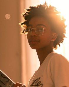 Afro-Textured-Hair Natural Short Hair Ideas for Cute Ladies .- Afro-Textured-Hair Natural Short Hair Ideas for Cute Ladies femalehairstyles - Pelo Natural, Natural Hair Care, Natural Hair Styles, Short Natural Hair, Natural Skin, Afro Look, Short Afro, Short Undercut, Pelo Afro