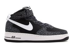 Nike Air Force 1 Mid '07 Black/White -- Forces never get old!!!